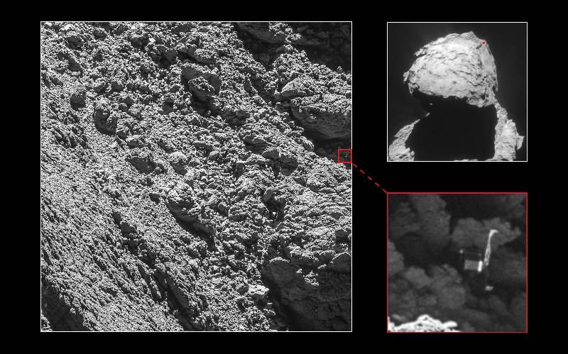 Rosetta a retrouvé Philae – Air&Cosmos