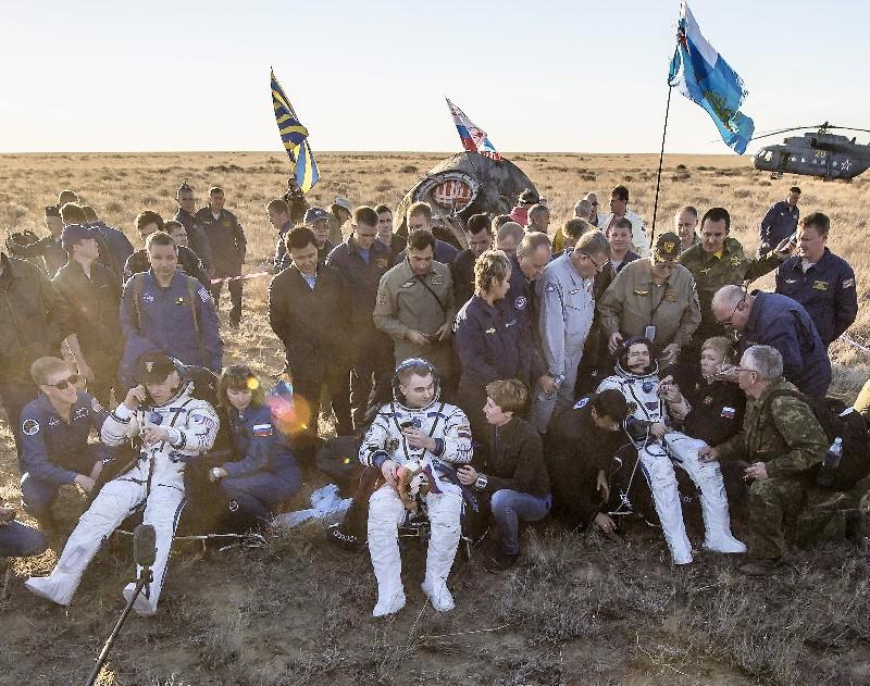 Retour sur Terre du dernier Soyouz TMA-M – Air&Cosmos