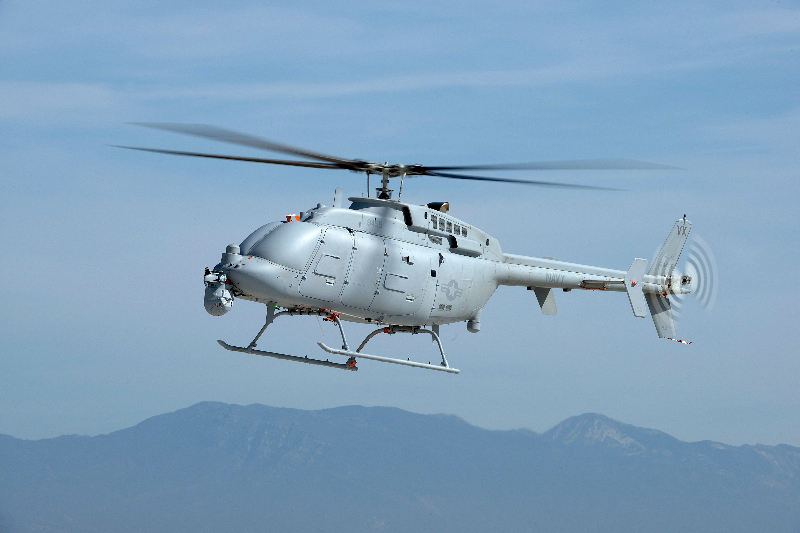 L'US Navy commande 10 Fire Scout MQ-8C – Air&Cosmos