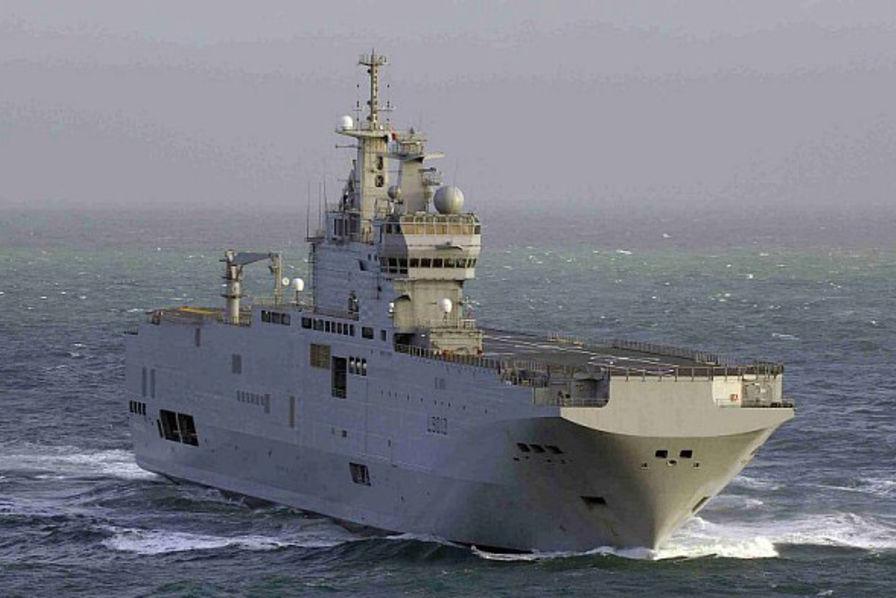 Le second «Mistral russe» de DCNS remis à l'Egypte