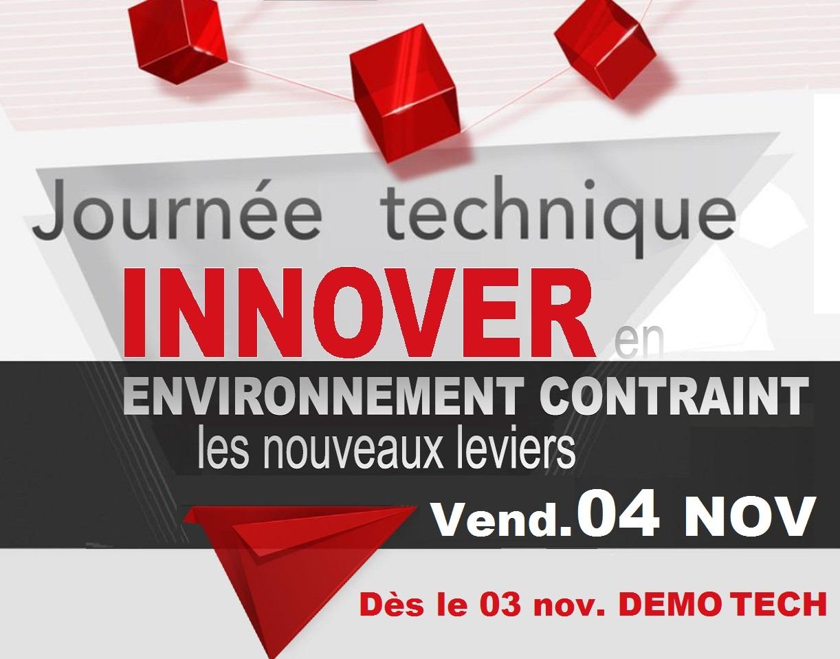 ISPA Journées techniques 2016 le 03 et 04 novembre à Alençon