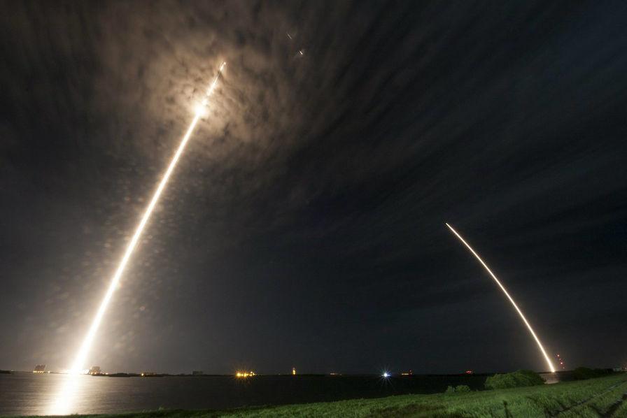 SpaceX prend une longueur d'avance dans la course aux fusées réutilisables