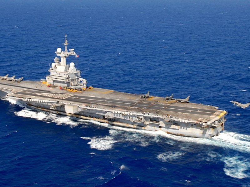 Irak/Syrie : La mission du Charles de Gaulle prolongée – Air&Cosmos