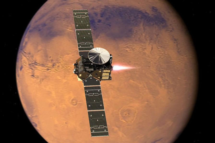 Exomars, les 4 technologies qui vont permettre au module européen de se poser sur Mars – Usine Nouvelle