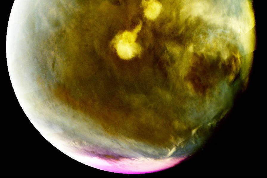 [Vidéo] Des rayons ultraviolets dévoilent la formation des nuages sur Mars