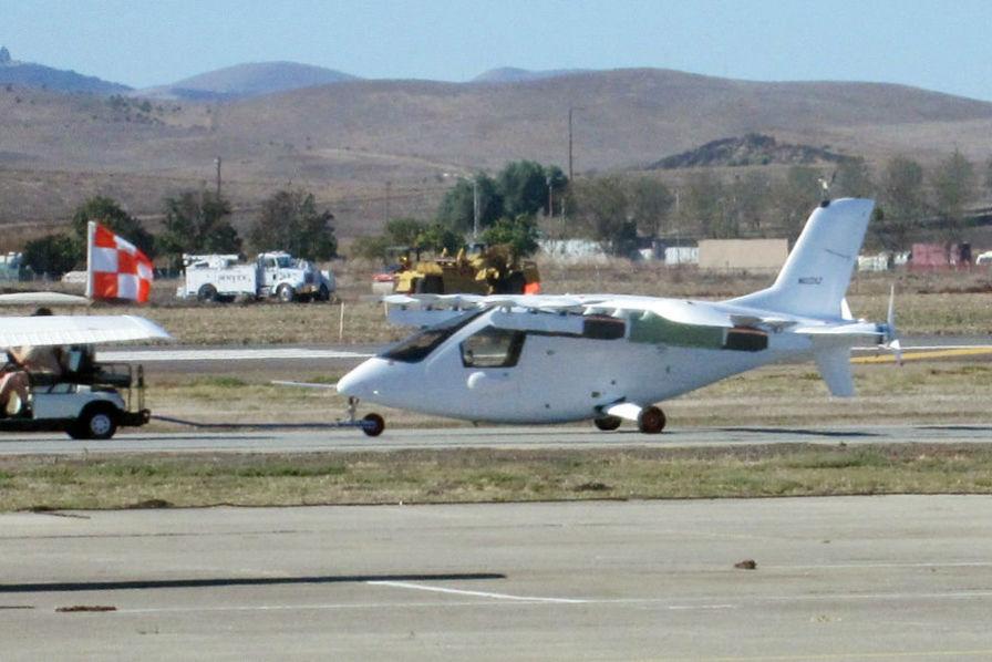 La très secrète voiture volante du cofondateur de Google aperçue dans les airs