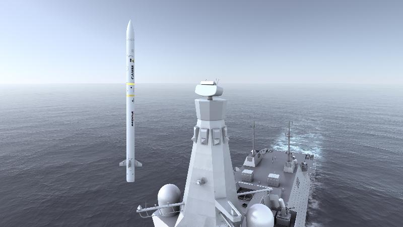 MBDA : lancement de la phase de démonstration et de production du Sea Ceptor – Air&Cosmos