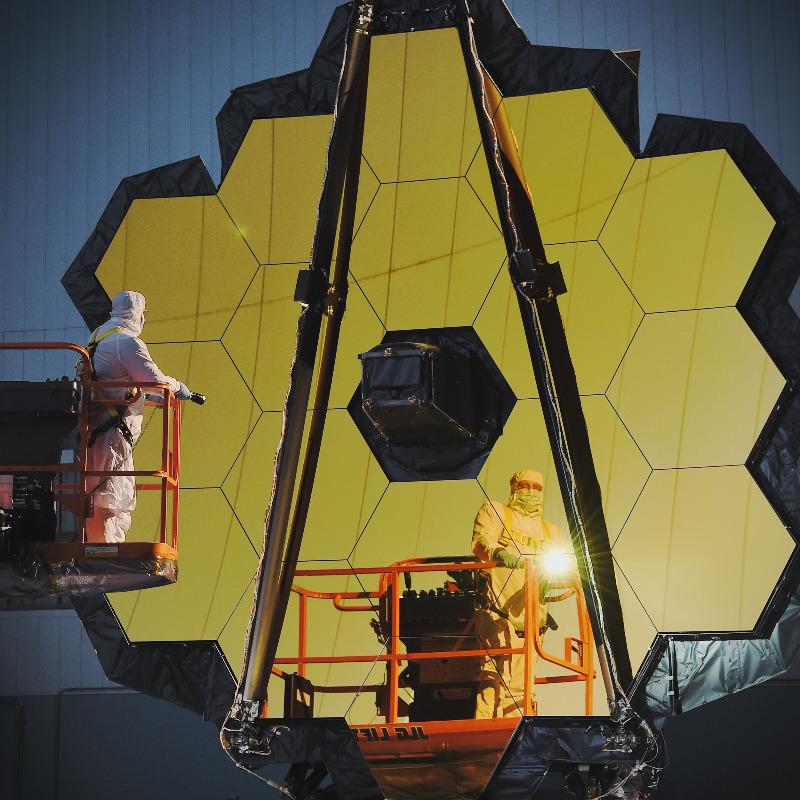 Le James Webb Telescope de la Nasa est prêt – Air&Cosmos