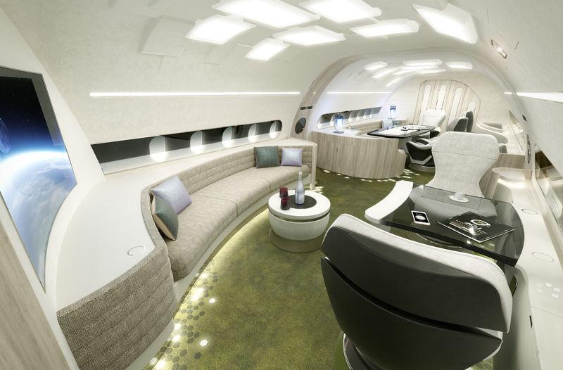 Airbus peaufine la déco de ses limousines du ciel – Air&Cosmos