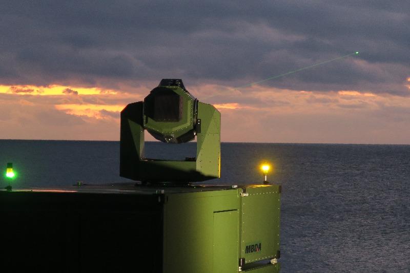 MBDA Deutchland teste une arme laser – Air&Cosmos