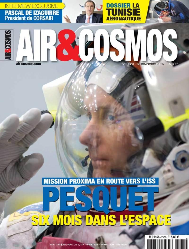 Thomas Pesquet en route pour l'ISS – Air&Cosmos