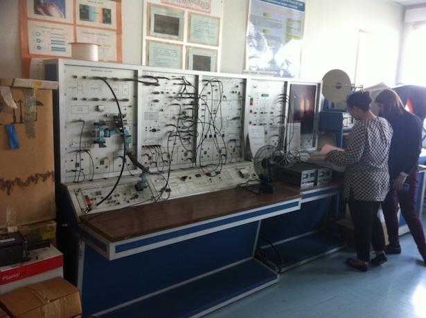 Licence Pro Electronique : un banc didactique bientôt opérationnel