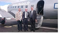 L'aéroport de Caen-Carpiquet : La compagnie Chalair Aviation fête ses 30 ans