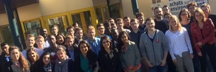 ES CCI Portes de Normandie : Les étudiants en Bac+5 achats et supply chain font leur rentrée !