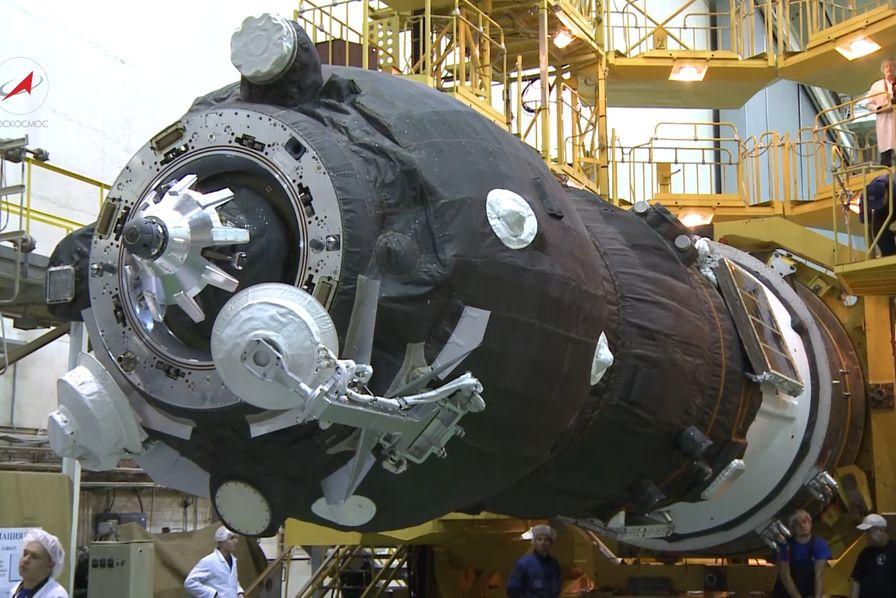 Le vaisseau Progress à destination de l'ISS se consume dans l'atmosphère
