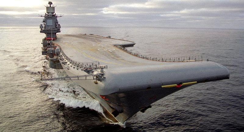 Syrie : la Russie rappelle son porte-avions – Air&Cosmos