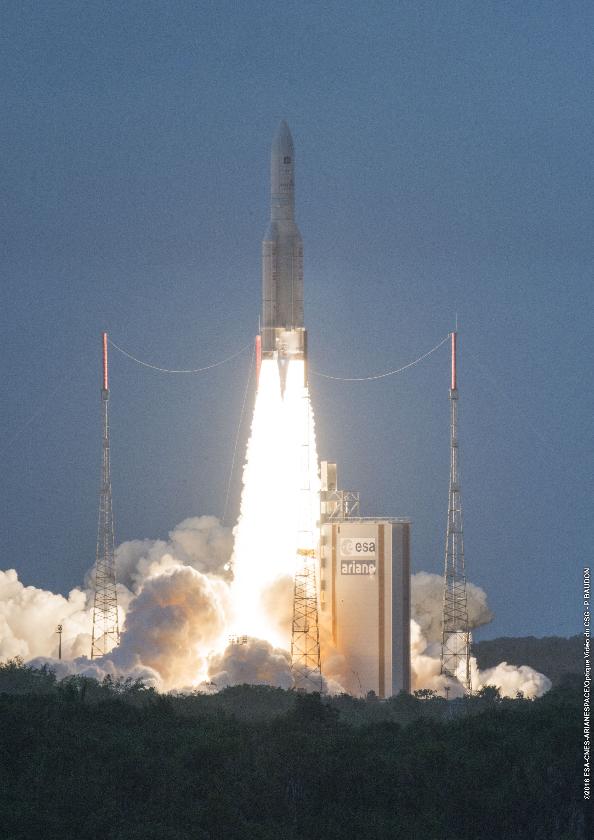 Arianespace termine 2016 sur plusieurs records – Air&Cosmos
