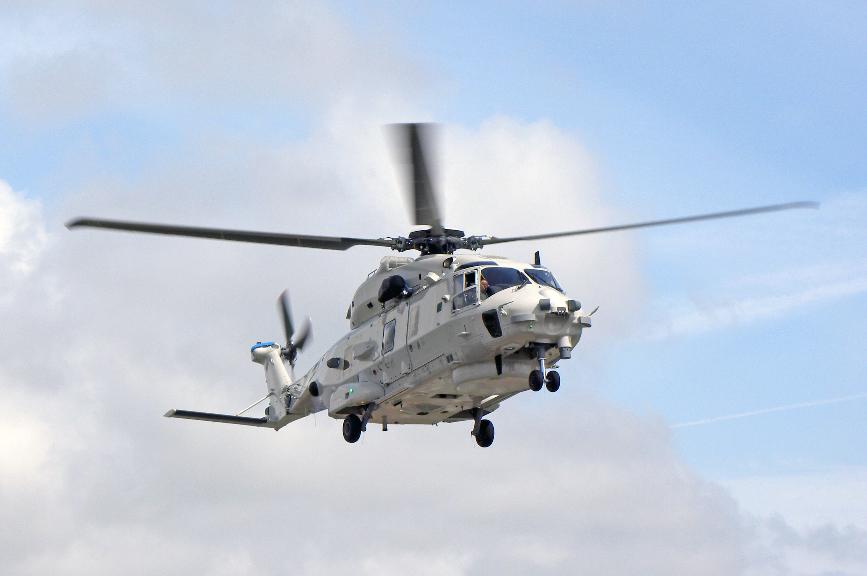 L'Italie reçoit son premier MH90 – Air&Cosmos