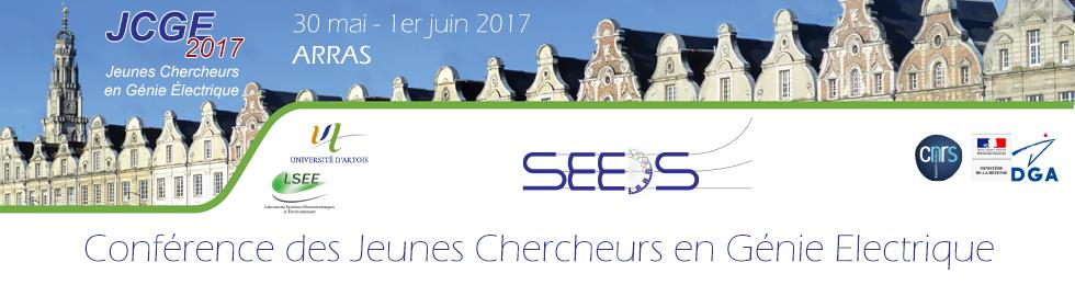 Du 30/05/2017 au 01/06/2017 – JCGE 2017- Jeunes Chercheurs en Génie Électrique – ARRAS