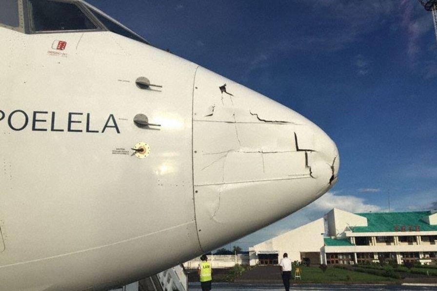 [Photo] Quand un drone entre en collision avec un avion, ça fait des dégâts