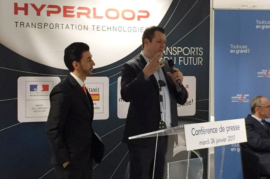 Hyperloop Transportation Technologies va créer un centre de recherche à Toulouse