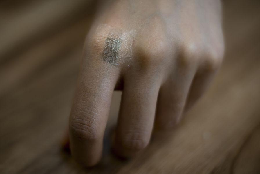 Vers une électronique à fleur de peau