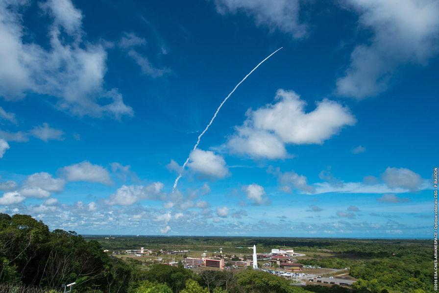 Arianespace engrange les bénéfices de sa fiabilité