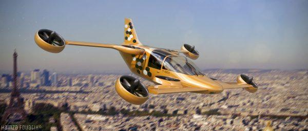 Projet Mini-Bee, le déplacement du futur, ca avance !