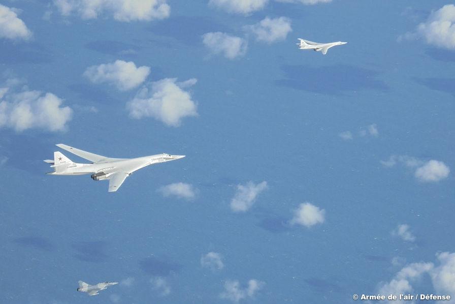 Deux bombardiers russes approchent (une nouvelle fois) les côtes françaises d'un peu trop près