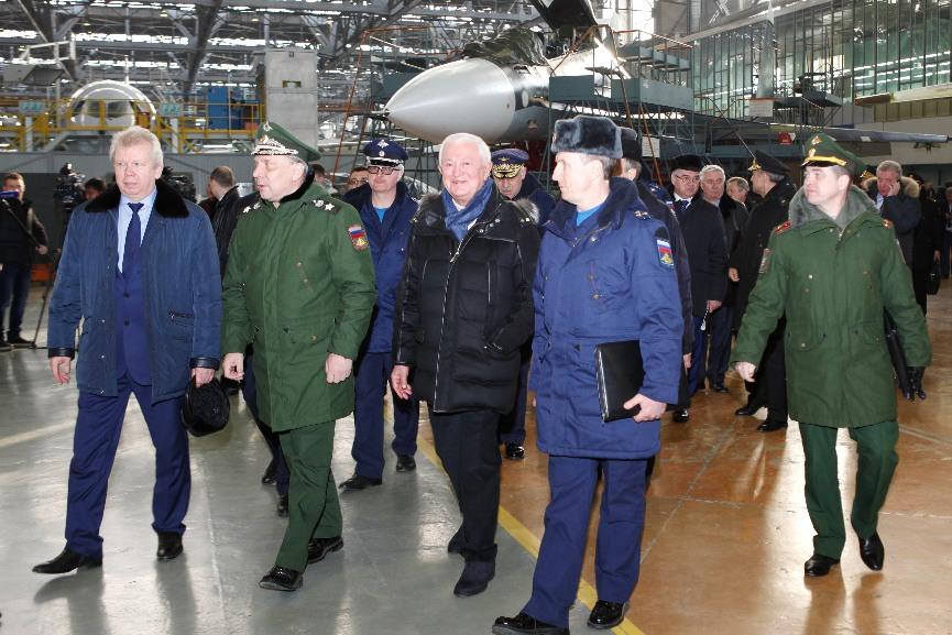 17 Sukhoï Su-30SM pour la Force aérienne russe en 2017 – Air&Cosmos