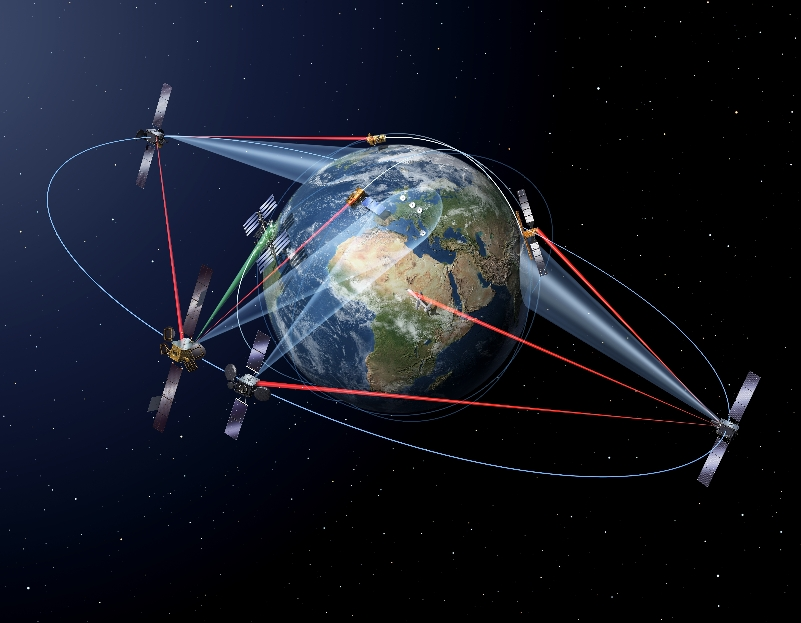 Airbus Defence and Space étend l'autoroute de l'information spatiale EDRS – Air&Cosmos
