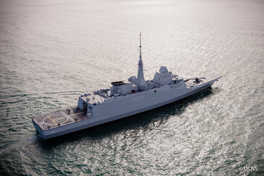 DCNS livre à la Marine Nationale sa 4ème FREMM – Air&Cosmos