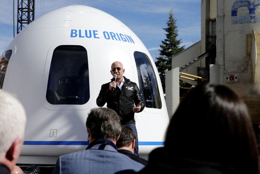 Pour financer Blue Origin, Jeff Bezos vend 1 milliard de dollars d'actions Amazon tous les ans