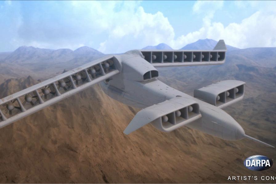 [L'industrie c'est fou] Un prototype d'engin volant sans pilote qui décolle à la verticale