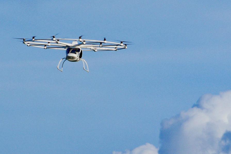 [Vidéo] Le Volocopter 2X, bientôt commercialisé