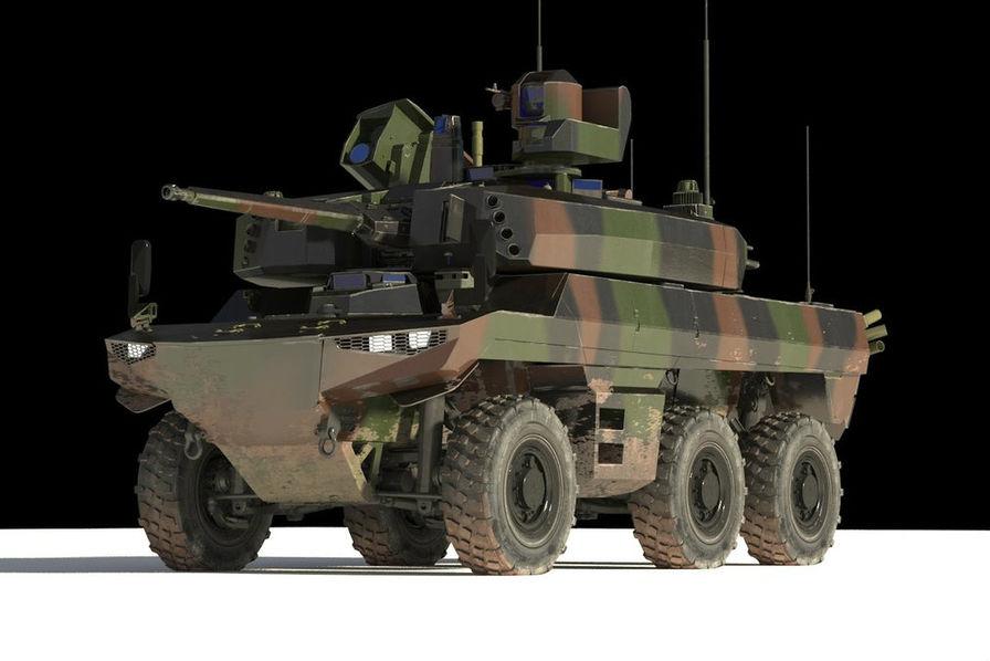 Les premiers blindés Griffon et Jaguar commandés pour le programme Scorpion