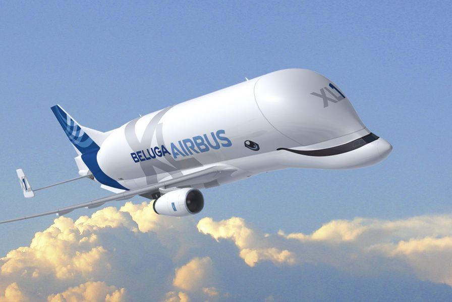 «Le Smiling Beluga XL», la version du nouveau gros-porteur sélectionnée par les salariés d'Airbus