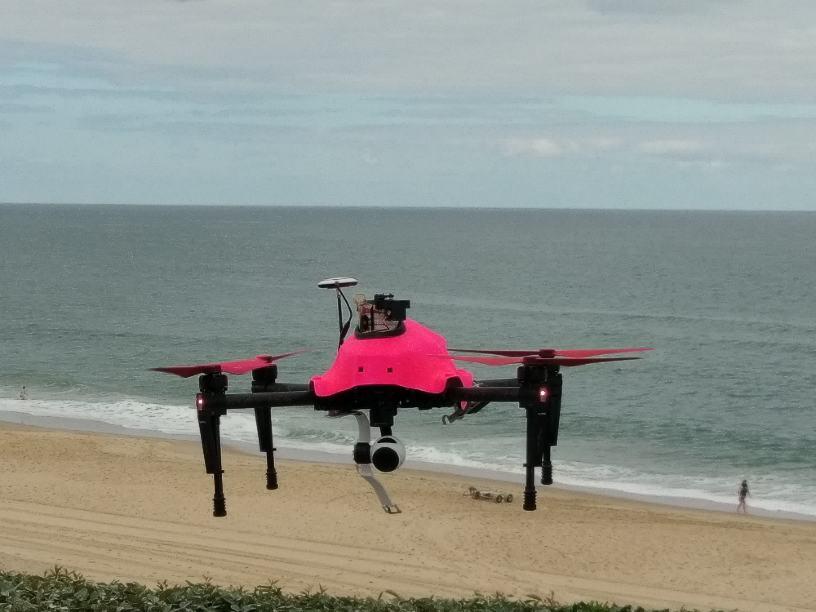 Nouvelles expérimentations cet été pour le drone Helper