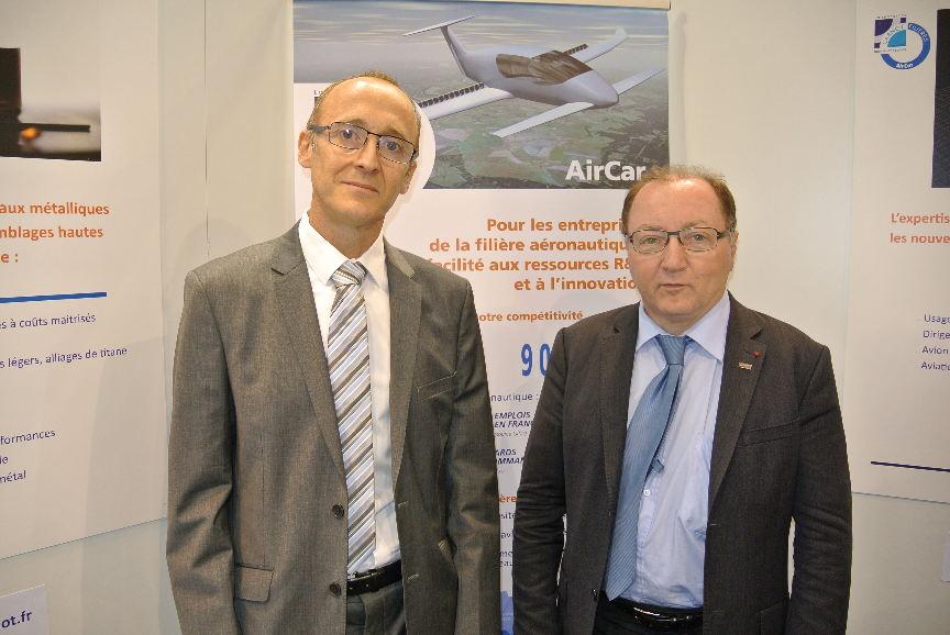 Bourget 2017 : AirCar facilite l'accès des PME à la R&D
