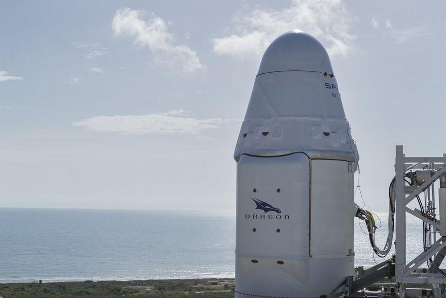 [Vidéo] SpaceX ravitaille l'ISS à l'aide d'une capsule Dragon recyclée