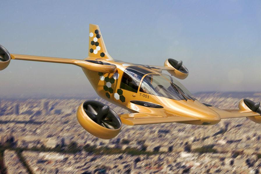 Bourget 2017 : Le drôle d'engin volant développé par la filière aéro normande