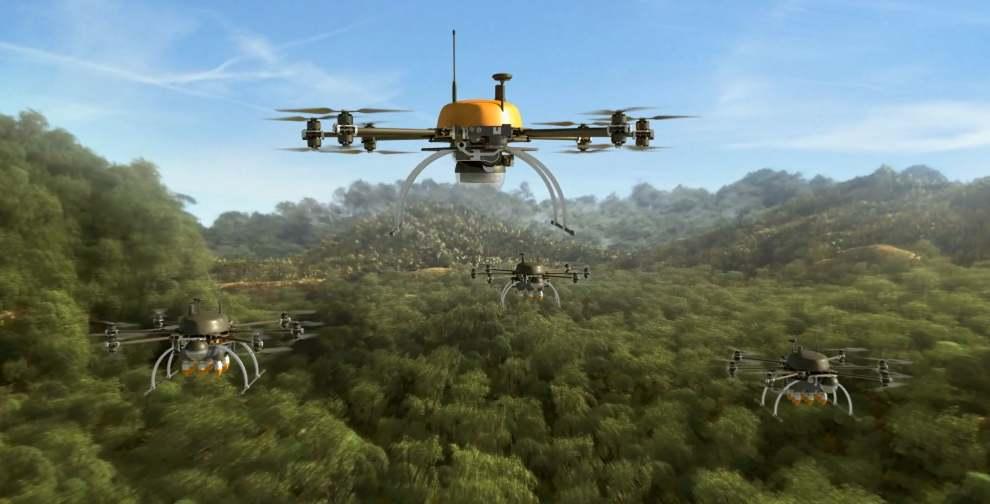 Dirigeables et drones au cœur de l'innovation chez Total