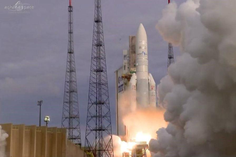 [Vidéo] Ariane 5 réalise son 80ème succès d'affilé