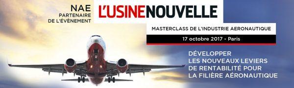 NAE en « force » lors des Masterclass de l'industrie aéronautique !
