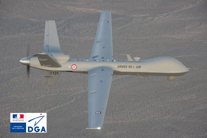 La France décide d'armer ses drones – Air&Cosmos