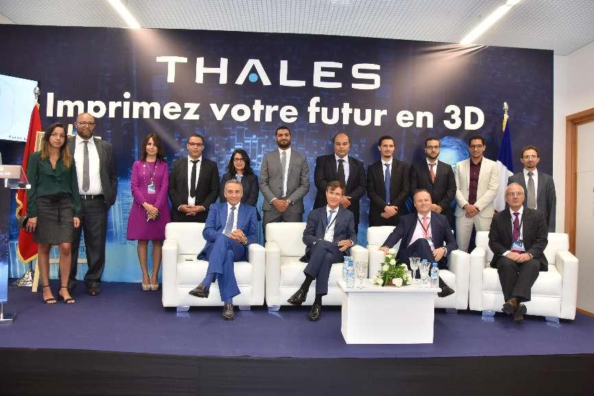 Thales inaugure son usine 3D au Maroc – Air&Cosmos