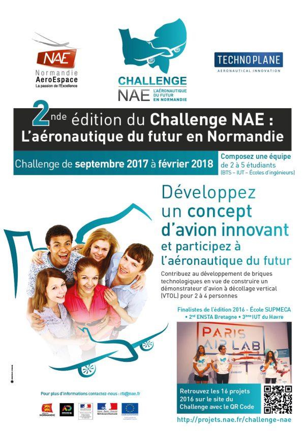 La saison #2 du Challenge NAE sur l'aéronautique du futur est officiellement lancée !