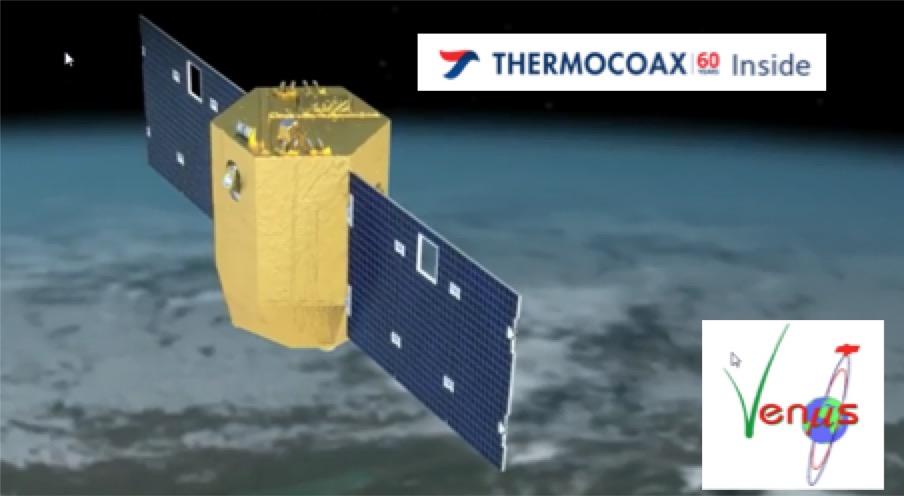 Thermocoax à bord des Satellite E3000 et succès de la mission Venµs