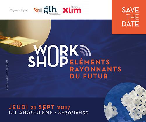 Le 21/09/2017 –  Workshop Eléments Rayonnant du Futur  – Angoulème