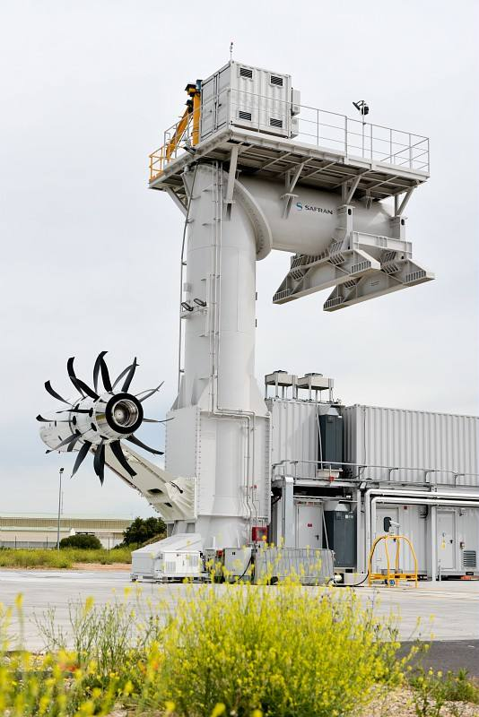 Safran starts Open Rotor tests – Air & Cosmos – International